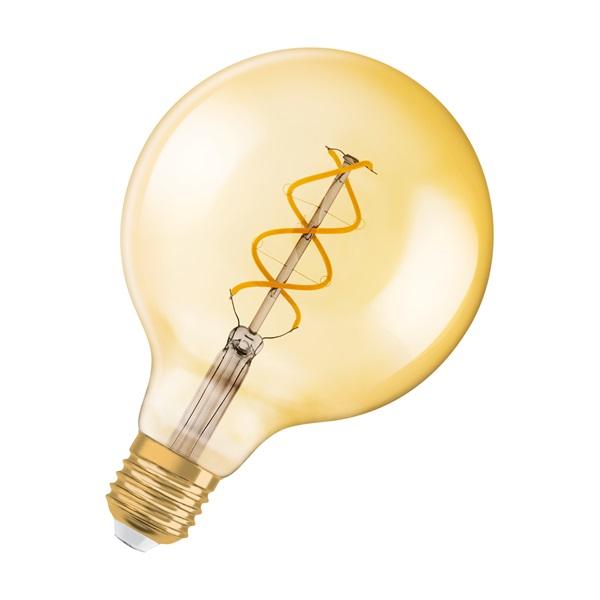 Osram Vintage átlátszó üveg búra/5W/250lm/2000K/E27 LED gömb izzó - 1