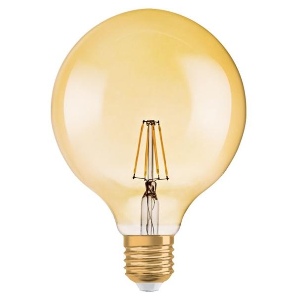 Osram Vintage átlátszó üveg búra/7W/725lm/2500K/E27 dimmelhető LED gömb izzó - 1