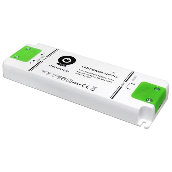 POS POWER FTPC100V12-C2 12V/8.33A 100W IP20 LED tápegység - 1