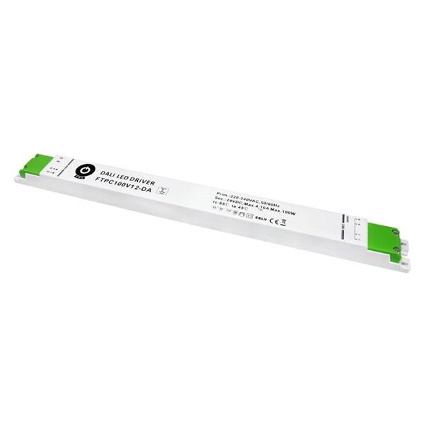 POS POWER FTPC100V12-DA 12V/8.33A 100W IP20 DALI LED tápegység - 1