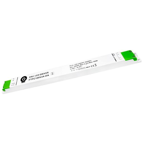 POS POWER FTPC100V24-DA 24V/4.17A 100W IP20 DALI LED tápegység - 1