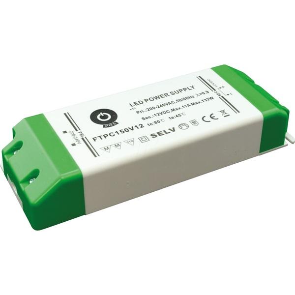 POS POWER FTPC150V12 12V/11A 132W IP20 LED tápegység - 1