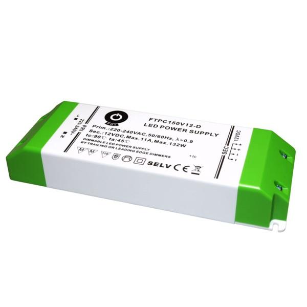 POS POWER FTPC150V12-D 12V/11A 150W IP20 szabályozható LED tápegység - 1