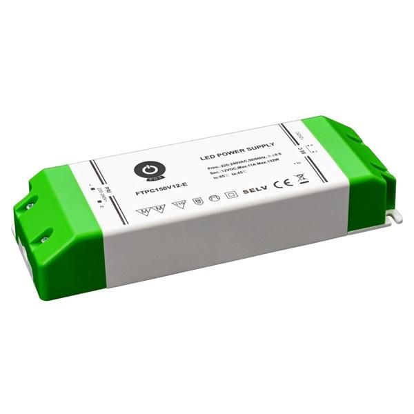 POS POWER FTPC150V12-E 12V/11A 150W IP20 gazdaságos LED tápegység - 1
