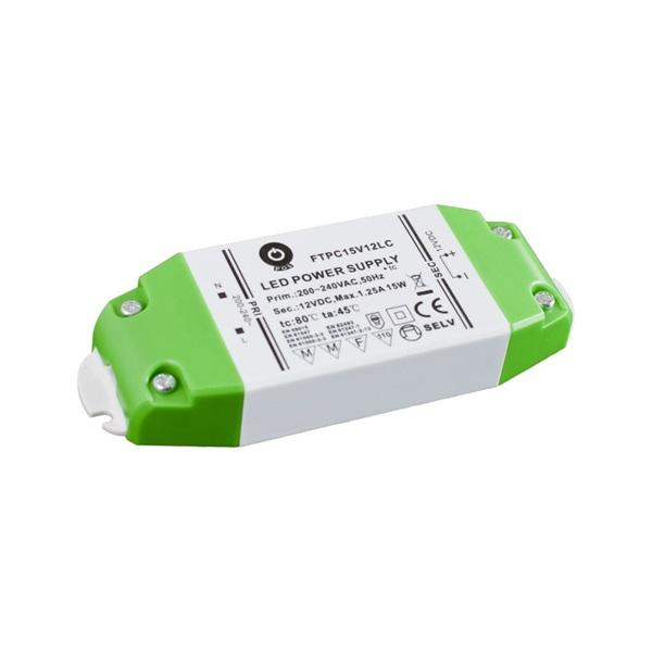 POS POWER FTPC15V12 12V/1.25A 15W IP44 LED tápegység - 1