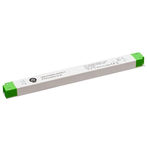 POS POWER FTPC200V12-S 12V/15A 180W IP20 vékony LED tápegység - 1