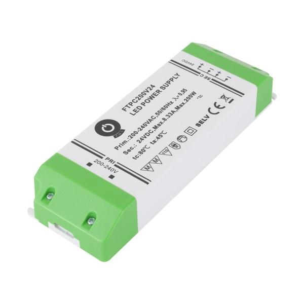 POS POWER FTPC200V24 24V/8.3A 200W IP20 LED tápegység - 1