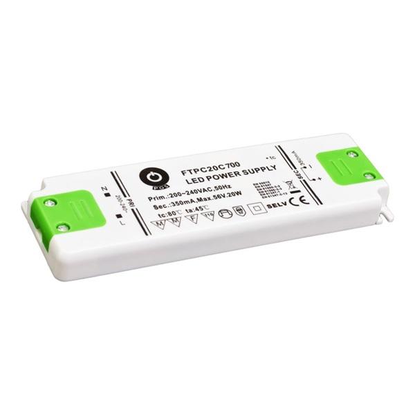 POS POWER FTPC20C700 700mA/14~29V 20,3W IP20 LED tápegység - 1