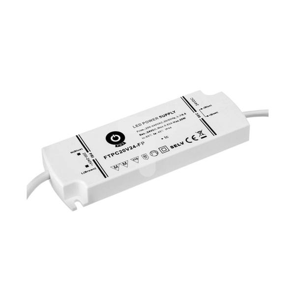 POS POWER FTPC20V24-FP 24V/0.83A 20W IP44 habálló LED tápegység - 1