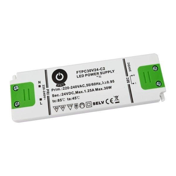 POS POWER FTPC30V24-C2 24V/1.25A 30W IP20 LED tápegység - 1