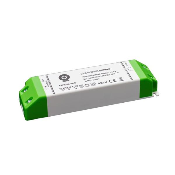 POS POWER FTPC30V24-E 24V/1.25A 30W IP20 gazdaságos LED tápegység - 1