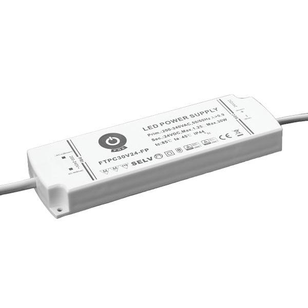 POS POWER FTPC30V24-FP 24V/1.25A 30W IP44 habálló LED tápegység - 1