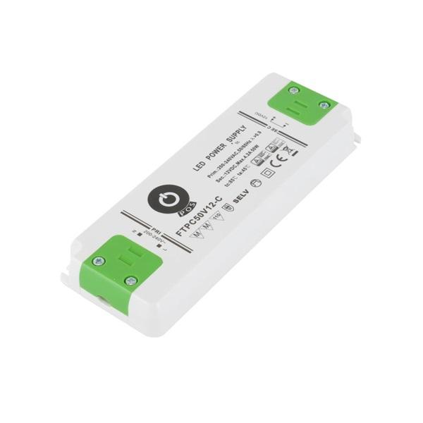 POS POWER FTPC50V12-C 12V/4.17A 50W IP20 LED tápegység - 1