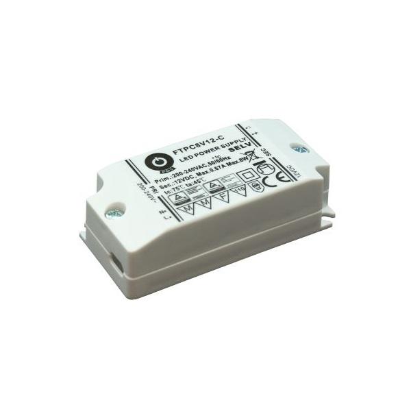 POS POWER FTPC8V12-C 12V/0.67A 8W IP20 LED tápegység - 1