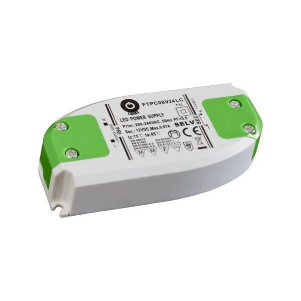 POS POWER FTPC8V24 24V/0.33A 8W IP20 LED tápegység - 1