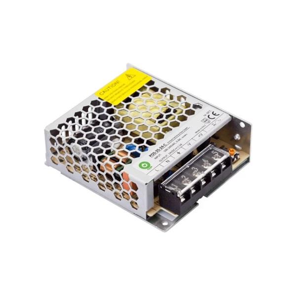 POS POWER POS-35-24-C 24V/1.5A 36W IP20 fém házas LED tápegység - 1