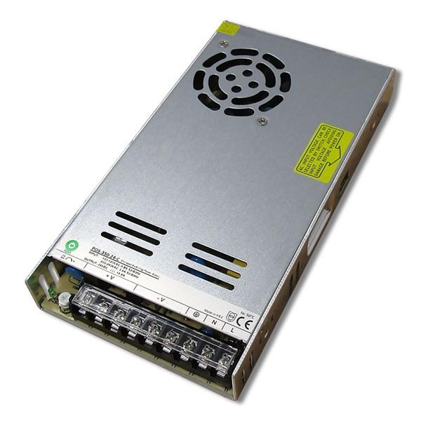 POS POWER POS-350-24-C 24V/14.4A 350W IP20 fém házas LED tápegység - 1
