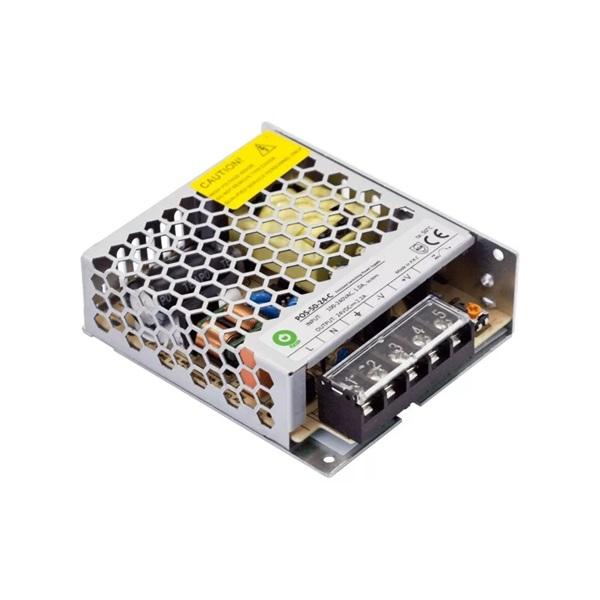 POS POWER POS-50-24-C 24V/2.2A 52,8W IP20 fém házas LED tápegység - 1