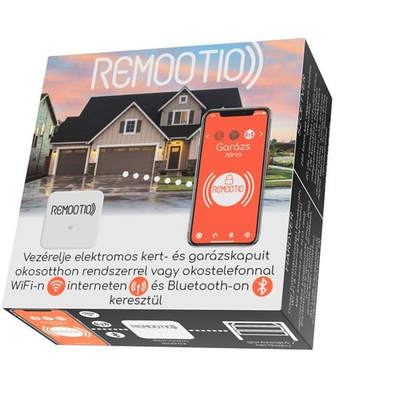 Remootio 2.0 Dual Univerzális USB okosotthon  Wi-Fis Bluetoothos 20 kulcsos kapunyitó + vendégkulcsok - 1