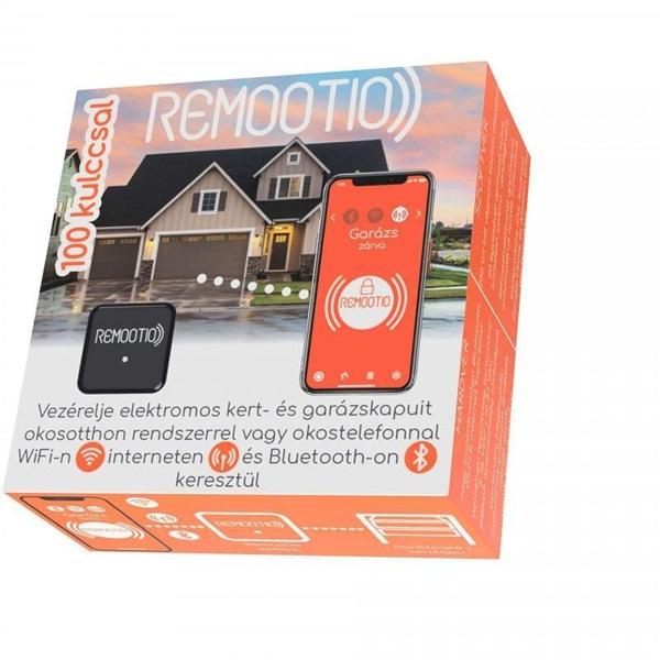 Remootio okostelefon és okosotthon vezérelt Wi-Fis és Bluetoothos 100kulcsos kapunyitó + vendégkulcsok - 1