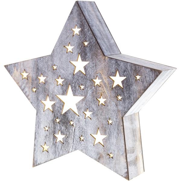 Retlux RXL 348 fa csillag dekoráció - 1
