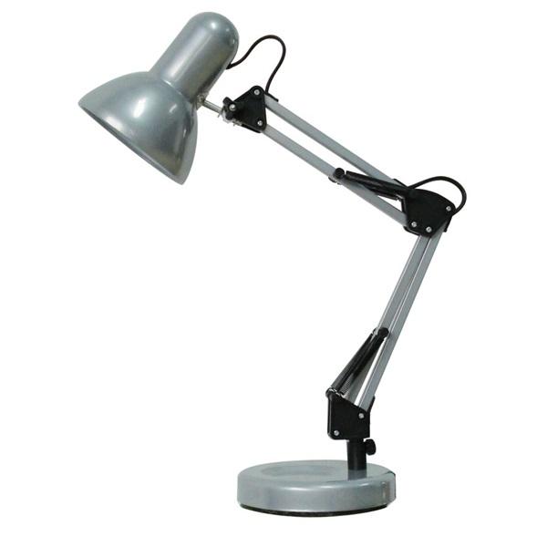 Samson asztali lámpa E27, 60W, ezüst - 1