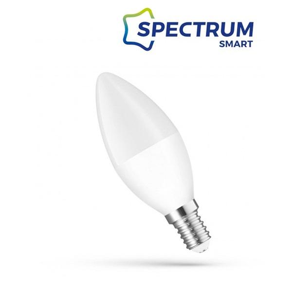 SpectrumLED 5W/410Lm/CCT+DIM/IP20/E14 WiFi LED gyertya led fényforrás - 1
