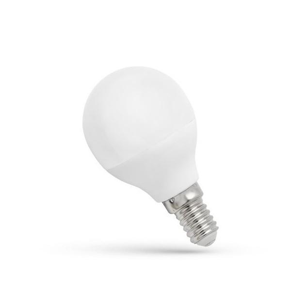 SpectrumLED 6W/480Lm/3000K/IP20/E14 LED kisgömb led fényforrás - 1