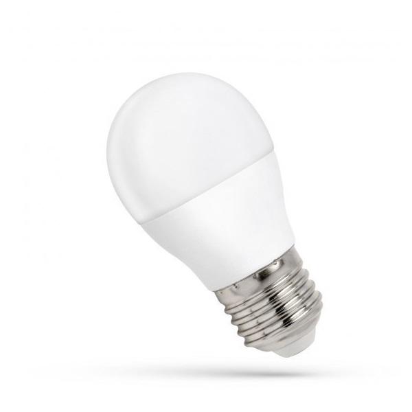 SpectrumLED 8W/620Lm/3000K/IP20/E27 LED kisgömb led fényforrás - 1
