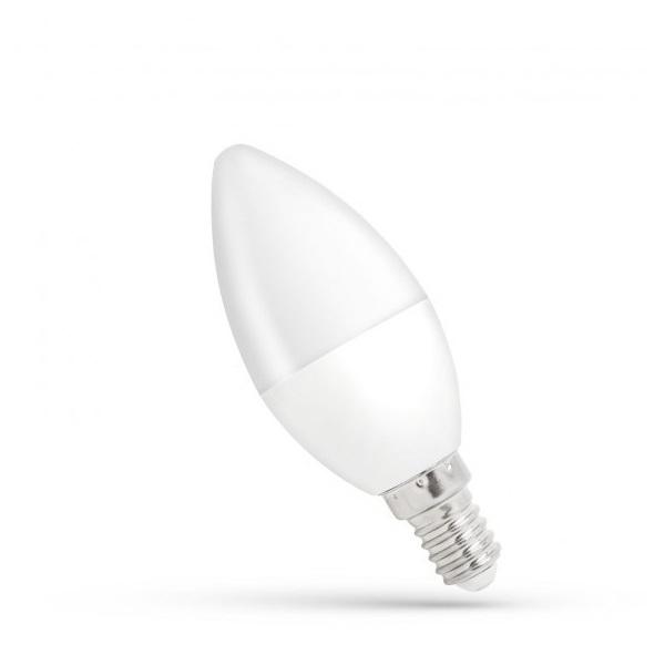 SpectrumLED 8W/650Lm/4000K/IP20/E14 LED gyertya led fényforrás - 1