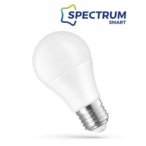 SpectrumLED Smart 9W/850Lm/RGBW+CCT+DIM/IP20/E27 WiFi LED körte led fényforrás - 1