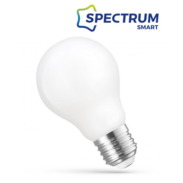 SpectrumLED Smart COG/5W/560Lm/CCT+DIM/IP20/E27 WiFi LED körte led fényforrás - 1