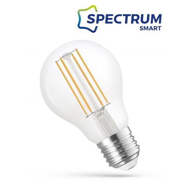 SpectrumLED Smart COG üveg/5W/560Lm/CCT+DIM/IP20/E27 WiFi LED körte led fényforrás - 1