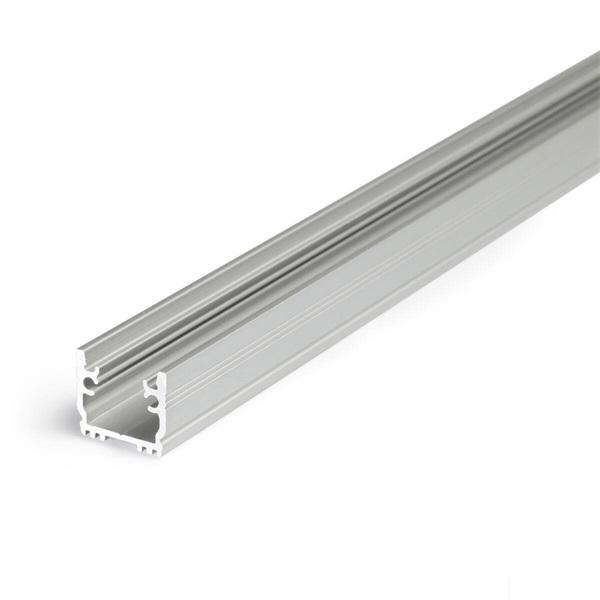 Topmet B1020020 Floor12 2m eloxált talajba süllyeszthető alumínium LED profil - 1