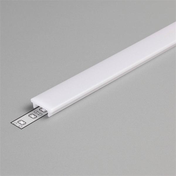 """Topmet B1040038 Floor 2m K"""" lépésálló klikk LED profil opál fedél - 1"""