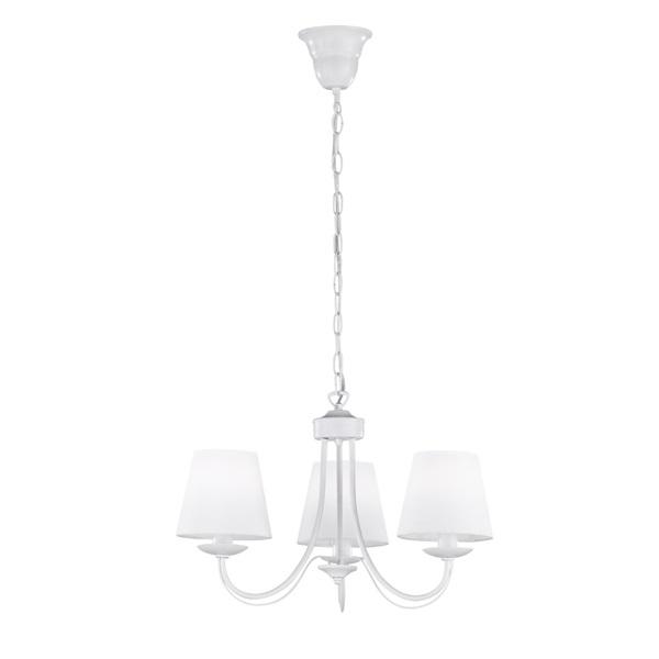 TRIO 110600331 Cortez 28W fehér függesztett lámpatest - 1
