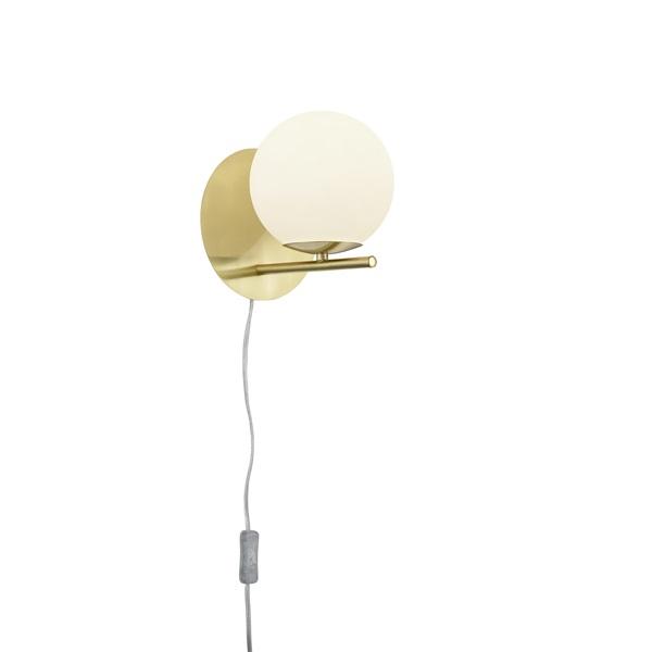 TRIO 202000108 Pure 28W sárgaréz fali lámpatest - 1