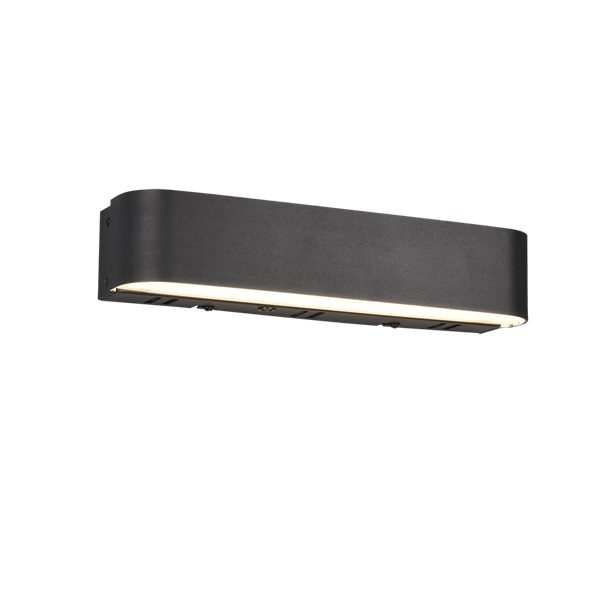 TRIO 250810232 Adriana fekete színváltós, fényerőszabályzós LED fali lámpa - 1