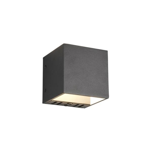 TRIO 253310132 Figo fekete színváltós, fényerőszabályzós LED fali lámpa - 1