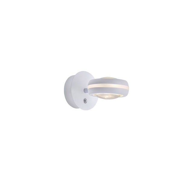 TRIO 255410231 VISTA RGBW-LED/ 3000-5000K/ 2 x 380Lm fehér oldalfali lámpatest - 1