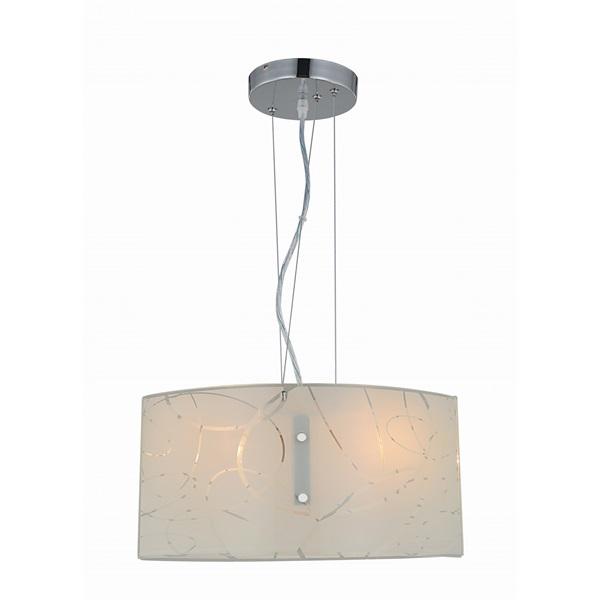 TRIO 304400201 Spirelli 40W fehér függesztett lámpatest - 1