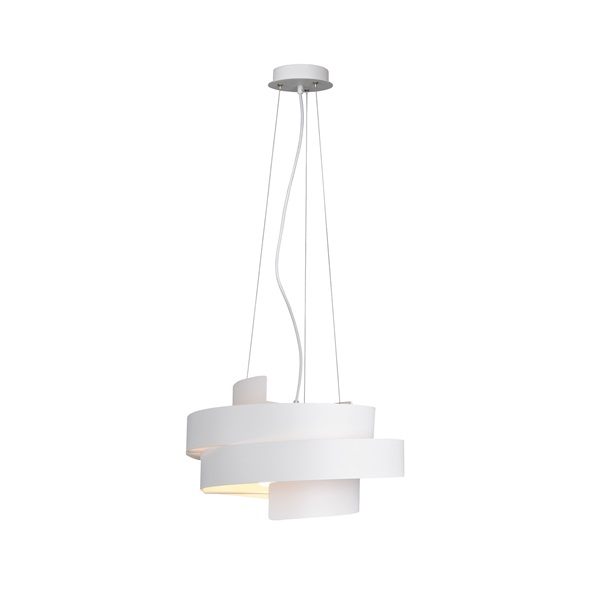 TRIO 307400331 Holly 42W fehér függesztett lámpatest - 1
