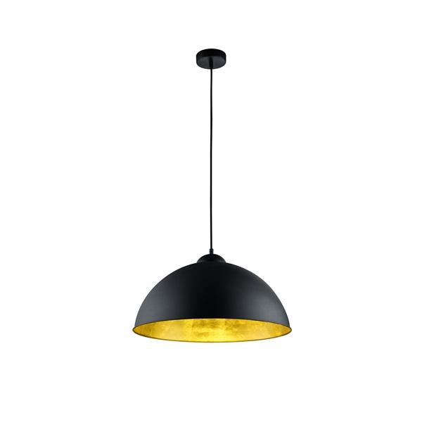 TRIO 308000132 Romino II 60W fekete függesztett lámpatest - 1
