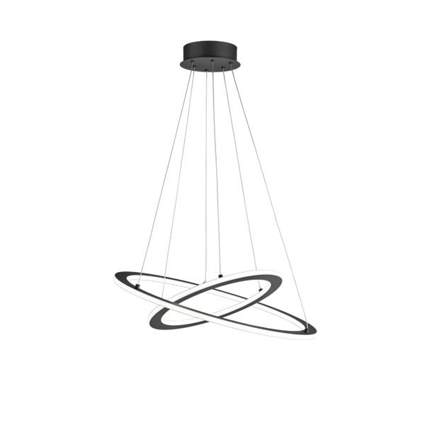 TRIO 321910242 Durban antracit fényerőszabályzós LED mennyezeti lámpa - 1