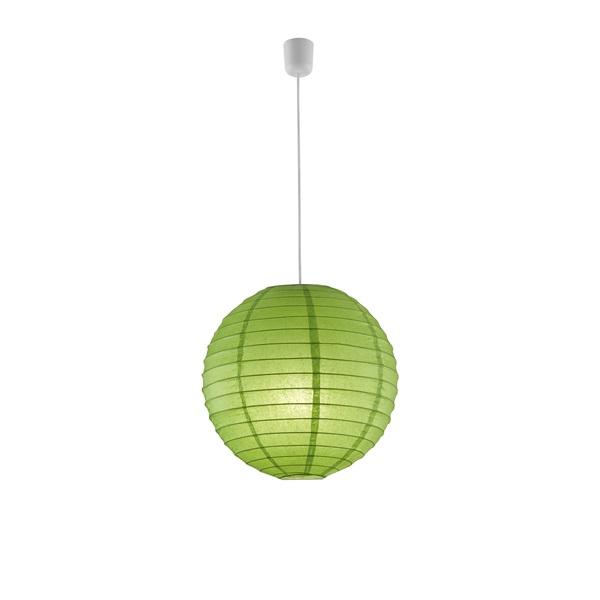 TRIO 3490400-15 Paper zöld függő mennyezeti lámpa bura - 1