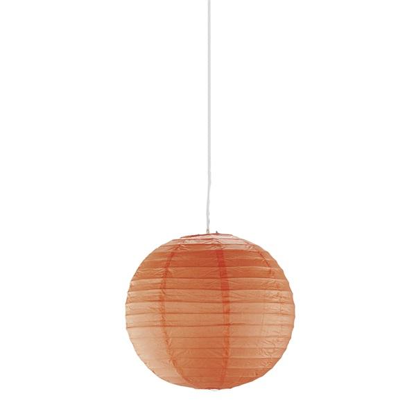 TRIO 3490400-18 Paper narancs függő mennyezeti lámpa bura - 1