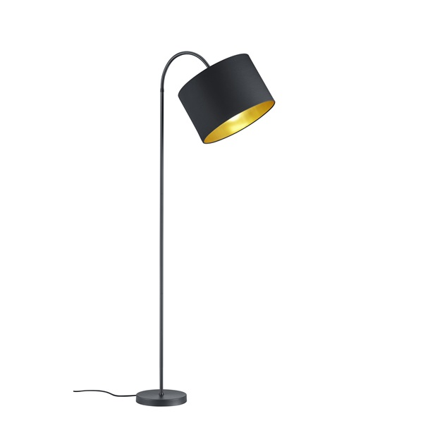 TRIO 408290179 Hostel 60W E27 fekete álló lámpatest - 1