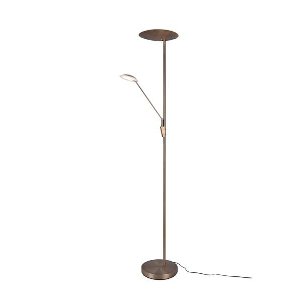 TRIO 423010204 Edmonton 33W 2950lm 2700+3350+4000K antik réz álló lámpatest - 1