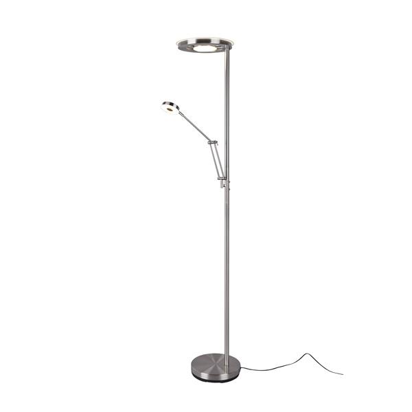 TRIO 424210307 Barrie 32W 4000lm 2700 + 4000K nikkel álló lámpatest - 1