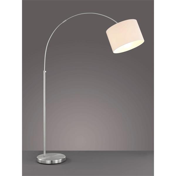 TRIO 461100101 Hotel 60W E27 nikkel álló lámpatest - 1